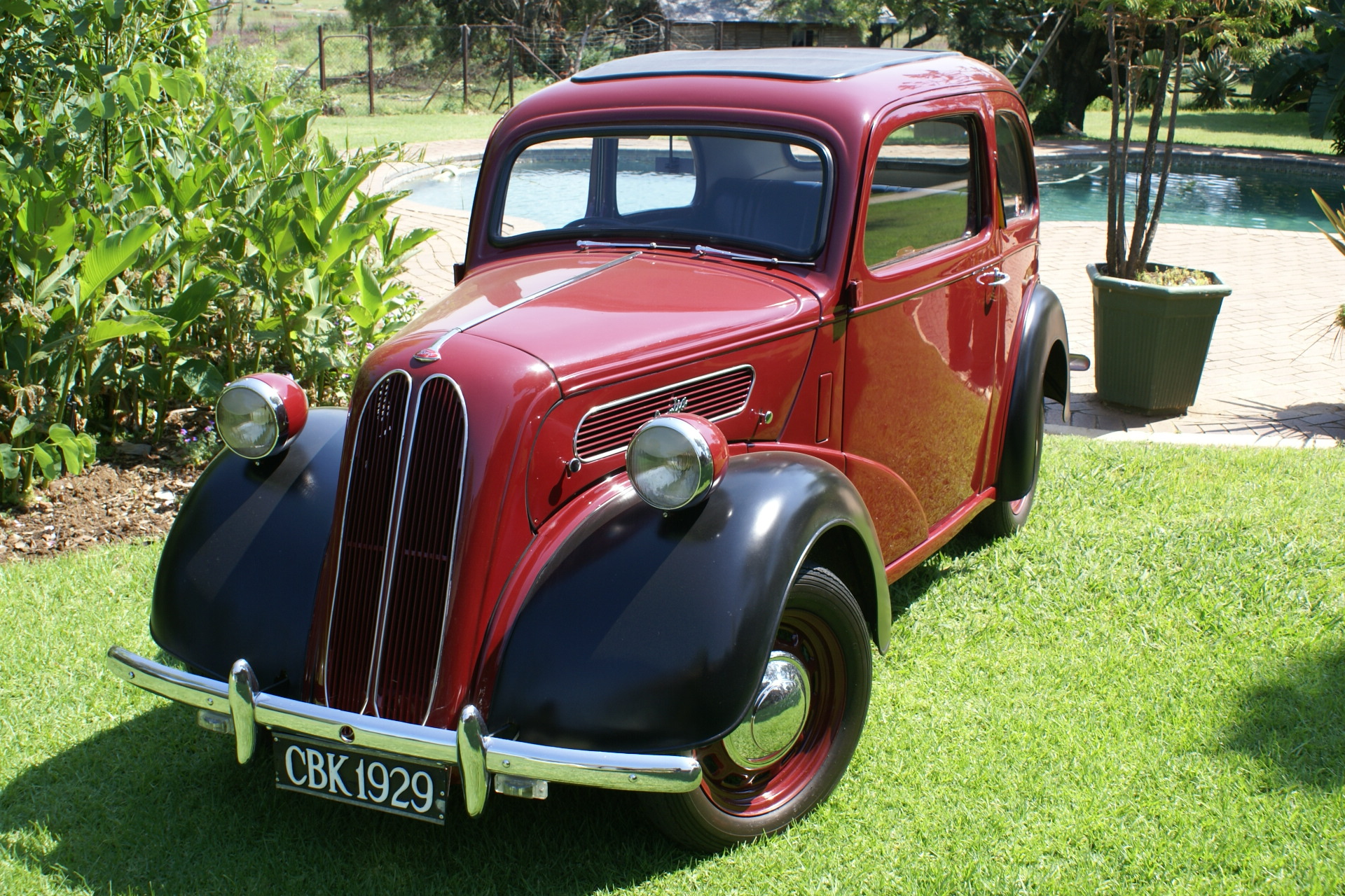 Vintage Car Hire Gauteng